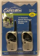 Nip Conair Expedition Frs200Slv Two-Way Frs Radios 14 Channels 2 Mile Range Hike