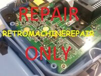 Sega Game Gear Console Repair
