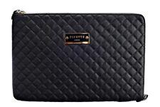 Pipetto Macbook Pro 15.4 Luxury Genuine Handmade Leather Sleeve Case - Black