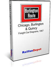 CB&Q Freight Car Diagrams - PDF on CD - RailfanDepot