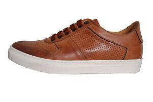 NEU | ACC | Handgefertigt | ital. Sneaker | Echtleder | braun | 3575