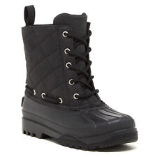 Paul Sperry Gosling Women's Quilted Waterproof Duck Shoes BOOTS Size 9 Black