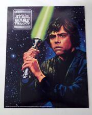 1995 MARK HAMILL Luke Skywalker Glossy 14 x 11 Photo Star Wars Trilogy Poster