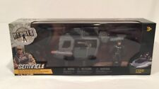 True Heroes Sentry Outpost Helicopter, Figure & Raft Military Playset (NEW)
