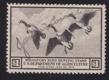 US RW3 $1 Duck Hunting Used VF-XF SCV $100