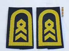 Marine rango cinghie: bacchetta Nostromo, oro/blu
