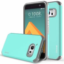 HTC 10 / HTC One M10 Case, Dual Layer Shockproof Bumper Silicone Case - Mint