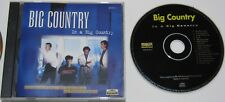 BIG COUNTRY...IN A BIG COUNTRY AUSTRALIAN PRESSING MUSIC CD