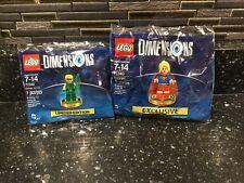 LEGO DIMENSIONS 71342 - Green Arrow & 71340 - Super Girl minifigure lot