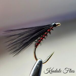 Red Holo / Peacock  Cormorant Size 10 (Set of 3) Fly Fishing Flies Fry