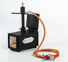 DFPROF1+1D Gas Propane Forge for Knifemaking Farriers Blacksmiths Furnace Burner