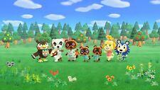 Best Animal Crossing New Horizon Amiibo NFC  - TOP 10 VILLAGERS 😮