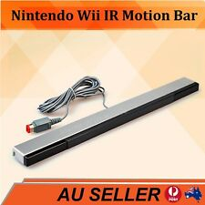 New Wired Remote Infrared Ray IR Inductor Motion Sensor Bar for Nintendo Wii