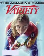 VARIETY MAGAZINE JANUARY 2018-THE AMAZING RACE MIKAELA SHIFFRIN-SPORTS TV RIGHTS