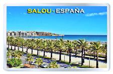 SALOU SPAIN FRIDGE MAGNET SOUVENIR IMAN NEVERA