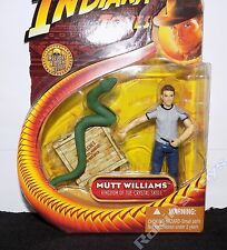 """Carded Indiana Jones Mutt Williams with Snake 3.75"""" PR1"""