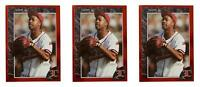 (3) 1992 Legends #32 MC Hammer Baseball Card Lot