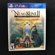 Ni No Kuni Kuni II: Revenant Kingdom - Premium Edition (PS4) BRAND NEW