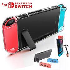 Прозрачный ударопрочный жесткий защитный чехол Чехол + протектор экрана для Nintendo переключатель