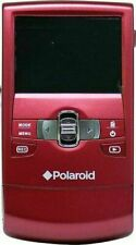 "Polaroid DVF-720 HD Digital Camcoder 2.4"" LCD Screen, Red"
