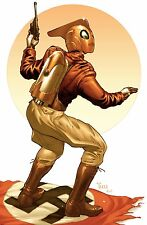 ROCKETEER Lithograph by Billy Tucci