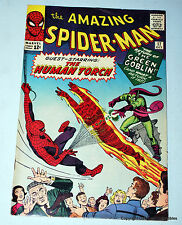 Amazing Spiderman 17 Marvel Comic Book 1964 2nd Green Goblin. F-VF