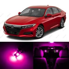 14 x Pink/Purple LED Lights Interior Package For Honda ACCORD 2013 - 2018 + TOOL