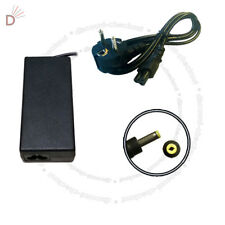 Laptop Charger For PSU HP DV9000 DV9500 65W + EURO Power Cord UKDC