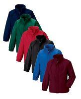 Russell Jerzees 875B Childs Boys Girls Kids Reversible Fleece Jacket Raincoat