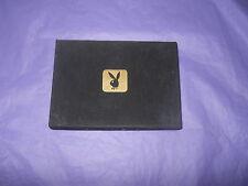 Vintage Playboy Playing Cards 2 Decks Felt Lid Box