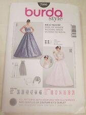 Burda 7086 Wedding Bolero Jacket Dress Pattern 10-20 Formal Bridal Prom Evening