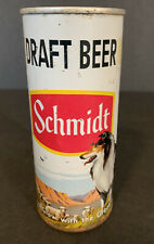 Schmidt 16 oz Draft Beer Can - Collie - Early Pull Tab