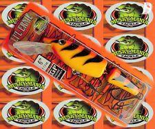 Little Ernie Jointed  Wobbler von Musky Mania USA 15cm Orange Tiger n.m.l.
