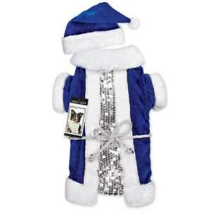 Blue Vintage Santa Set