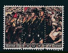 Stamp Replica Label Germany 0177 WWII 3rd Reich Wehrmacht Marching Battle MNH