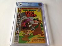YOGI BEAR 1 CGC 9.6 WHITE PAGES FLINTSTONES HANNA BARBERA EVANIER MARVEL COMICS