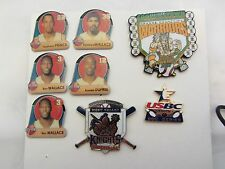 NBA Pistons  and other Sport  Pins 8 Total   (12)