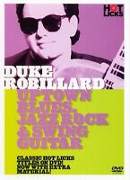 LEARN UPTOWN BLUES, JAZZ ROCK & SWING GUITAR WITH DUKE ROBILLARD HOT LICKS DVD