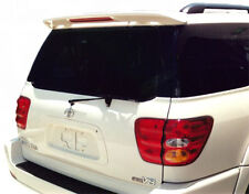 JSP 339163 Toyota Sequoia Rear Spoiler Primed 2001-2007 Factory Style with LED