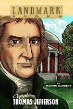 Meet Thomas Jefferson (Landmark Books) - Acceptable - Barrett, Marvin -