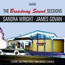 BROADWAY SOUND SESSIONS Sandra Wright James Govan NEW & SEALED SOUTHERN SOUL CD