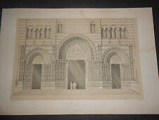 1843 GEORGE B.MOORE GENOVA CHIESA DI SAN LORENZO H.GALLY KNIGHT