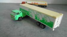 camion majorette rail route bernard container remorque made in france