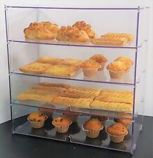 4 Compartment Tray Bakery Pastry Pastries Display Case Cafe Hotel Counter Food