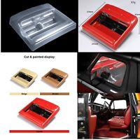 DIY Simulation Climbing Car Transparent Interior w/Sticker for Traxxas TRX4 Ford