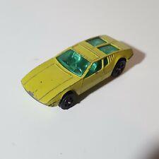Corgi Juniors WhizzWheels De Tomaso Mangusta Yellow Green