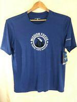 Brooks EZ T III 2014 MCM Mission Focus Marine Corp Marathon T-Shirt Sz XL Blue