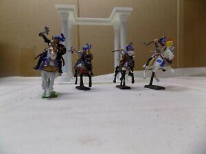 4 DSG Saracens knights 54mm painted