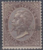 ITALY Regno - 1863 SAGGIO Sassone n.19 Certificate Terrachini  MH*