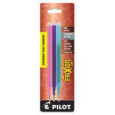 Pilot Refill for FriXion Erasable Gel Ink Pen Assorted 3/Pk 77336